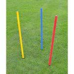 1 metre football poles