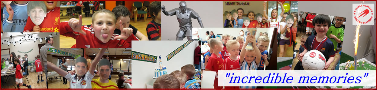 football birthday parties warrington collage