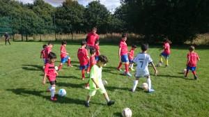 cheadle kids football training