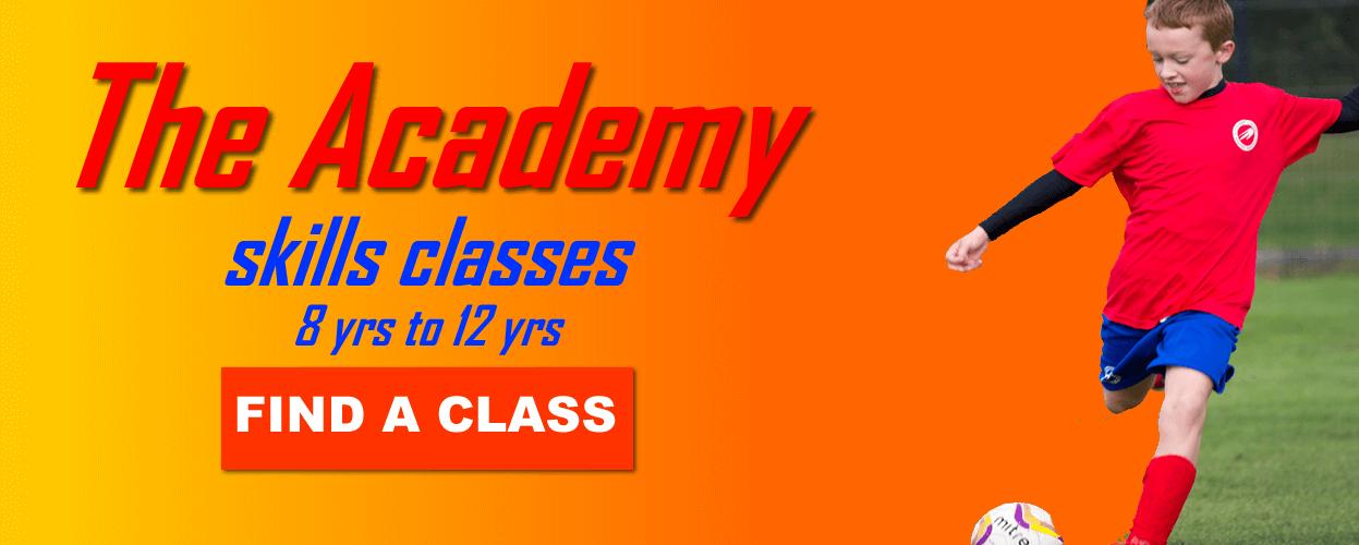 academy football skills classes