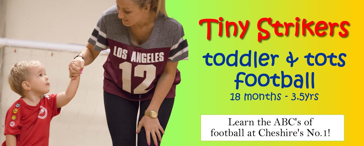 tiny strikers toddler tots football